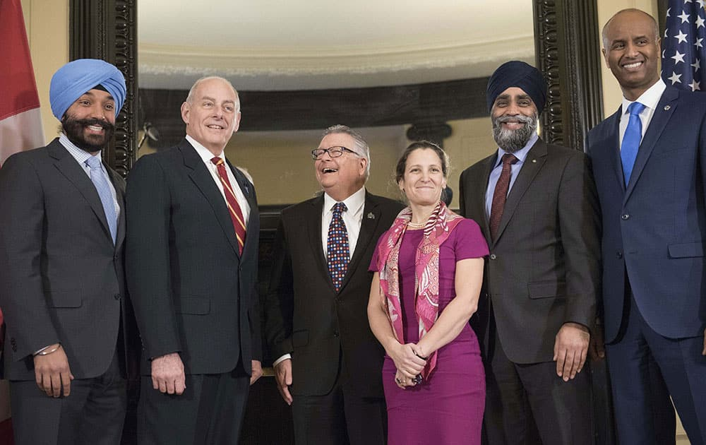 Minister of Innovation, Science, and Economic Development Navdeep Bains
