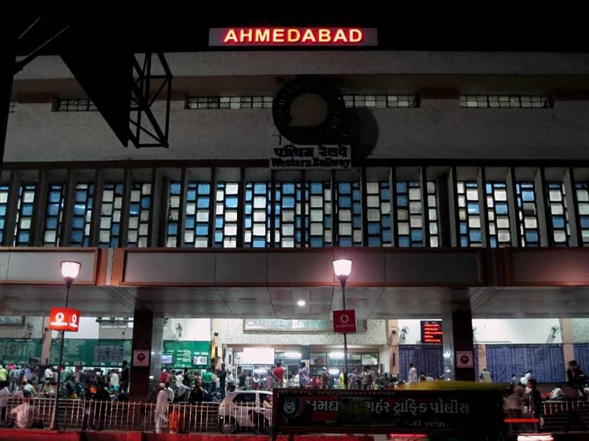 Ahmedabad Junction Railway Station, Gujarat