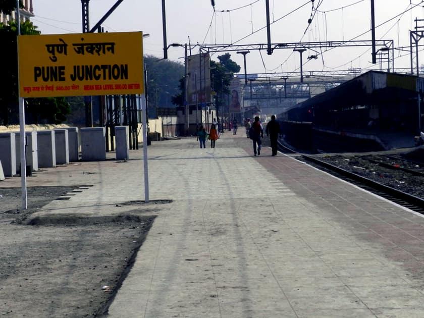 Pune Junction Railway Station, Maharashtra