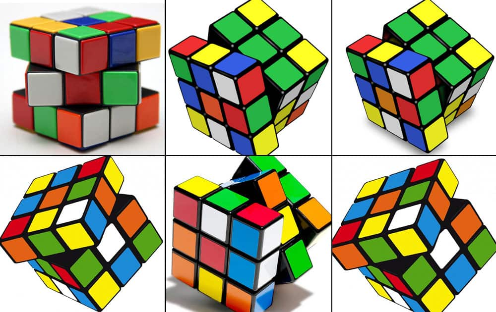 Google celebrates 40th anniversary of Rubik`s Cube with interactive doodle.