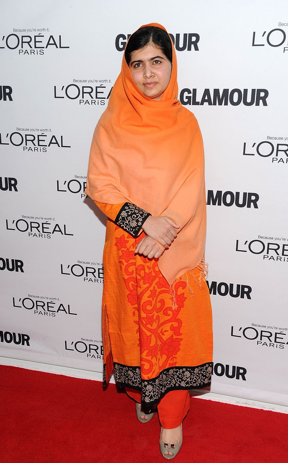 Honoree Malala Yousafzai attends the 23rd Annual Glamour Women of the Year Awards hosted by Glamour Magazine at Carnegie Hall in New York.