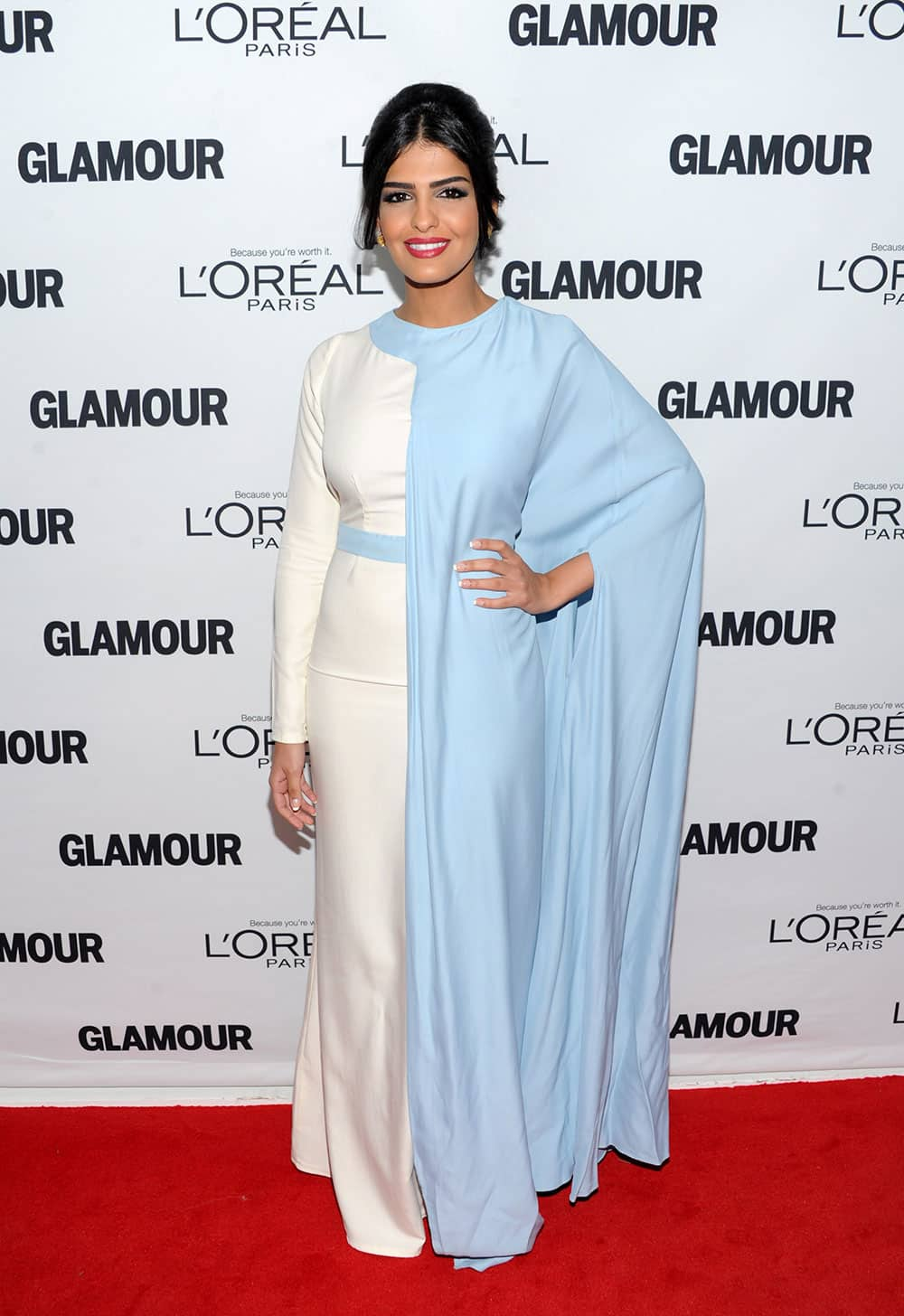 Saudi Arabian Princess Ameerah Al-Taweel attends the 23rd Annual Glamour Women of the Year Awards hosted by Glamour Magazine at Carnegie Hall in New York.