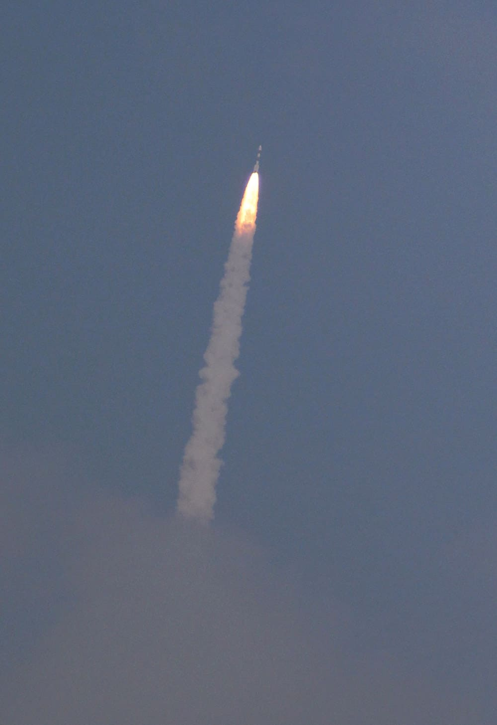 The Polar Satellite Launch Vehicle (PSLV-C25) rocket lifts off carrying India`s Mars spacecraft from the east-coast island of Sriharikota, India.