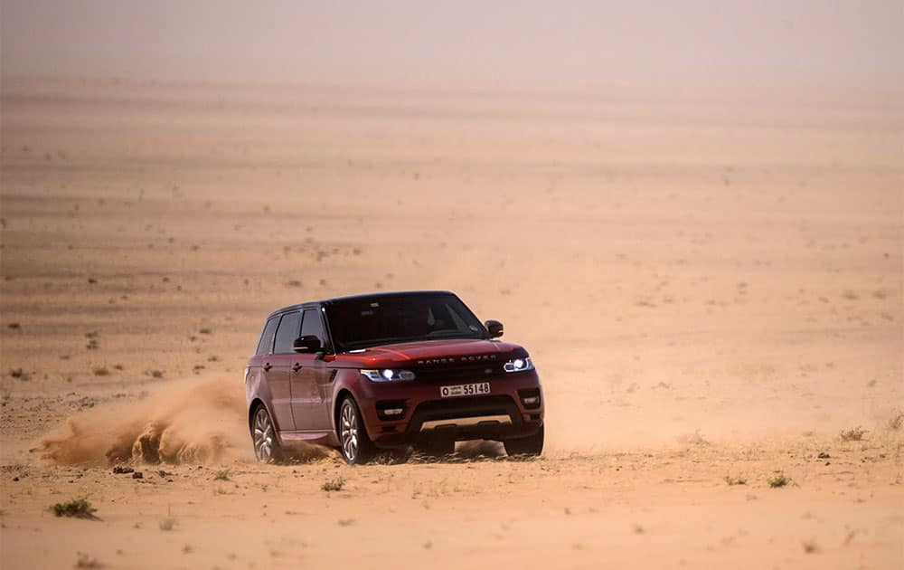 The new Range Rover Sport set the fastest recorded time for a land vehicle crossing of the '`Empty Quarter`, one of the harshest and most challenging desert environments on the planet, in Saudi Arabia.