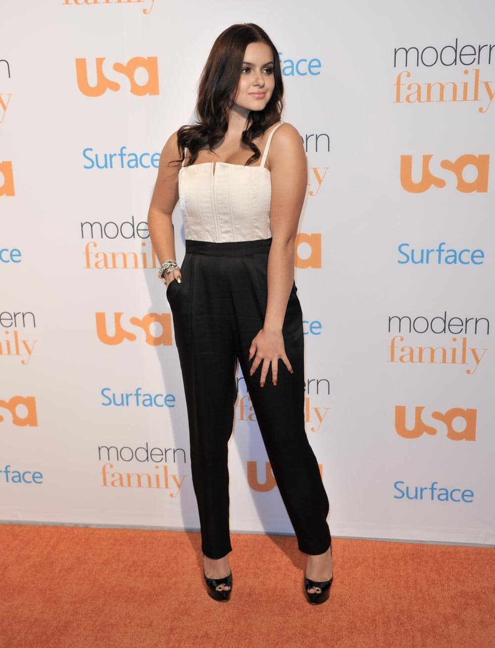 Ariel Winter arrives at