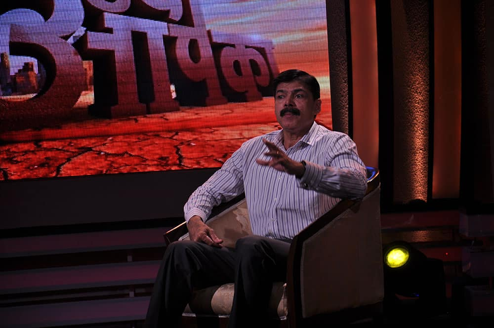 K Vijay Kumar sharing his thought on the issue of safety on the show `Mudda Apka`.
