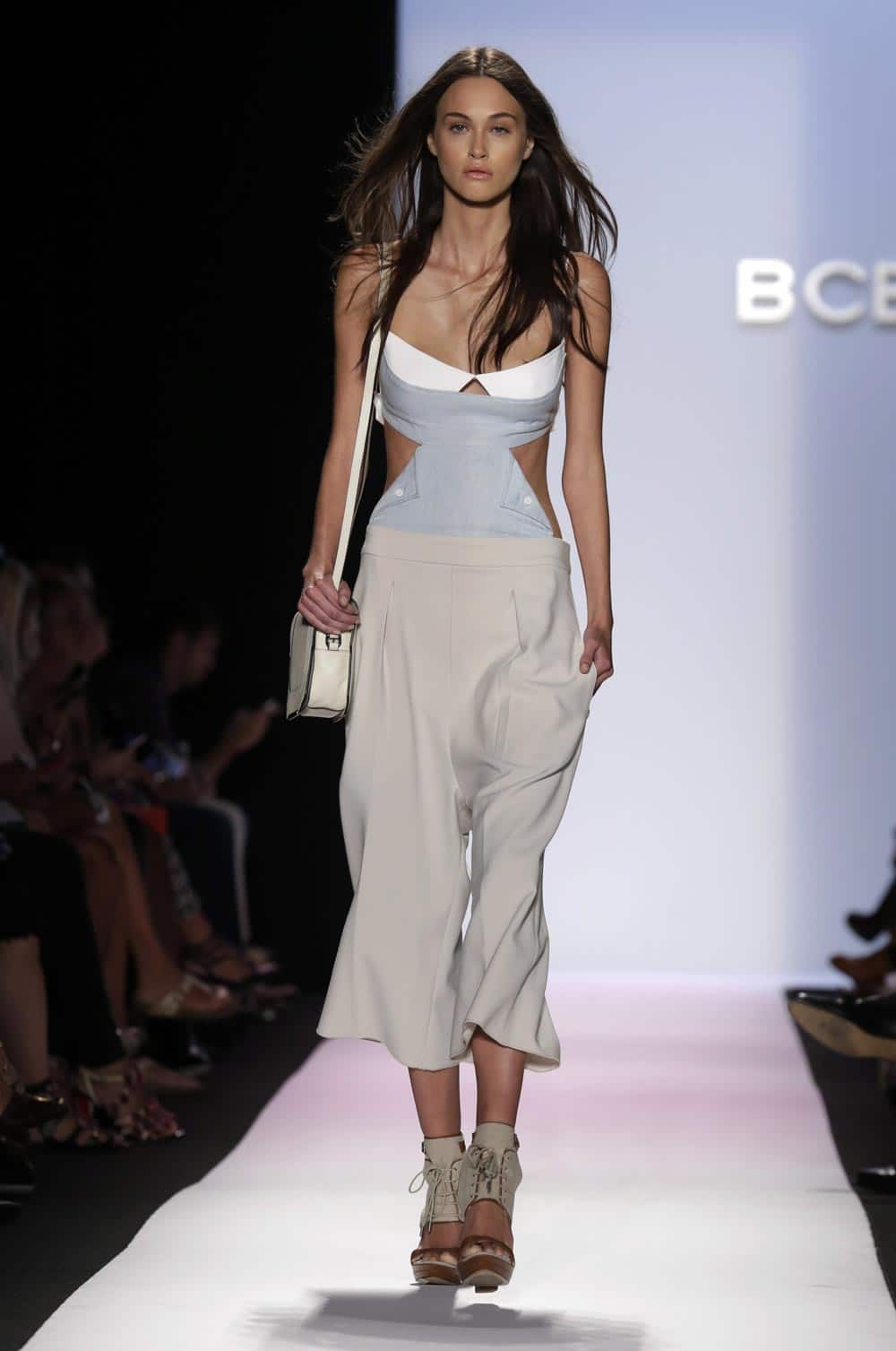 The BCBG MAX AZRIA Spring 2014 collection is modeled during Fashion Week in New York.
