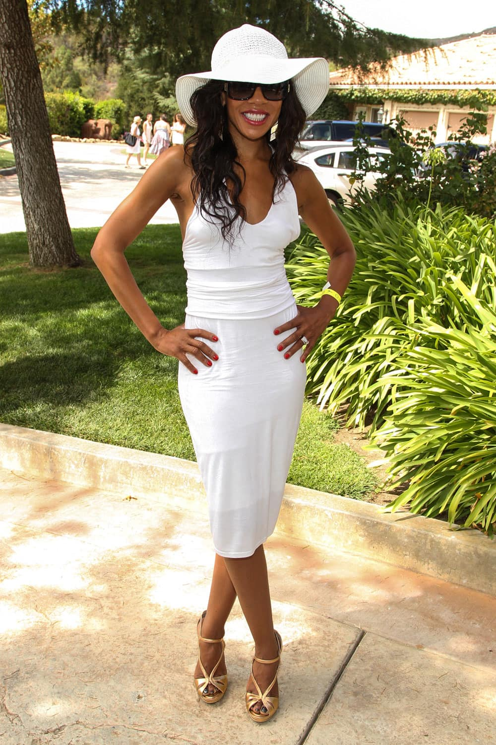 Actress Wendy Raquel Robinson arrives at the