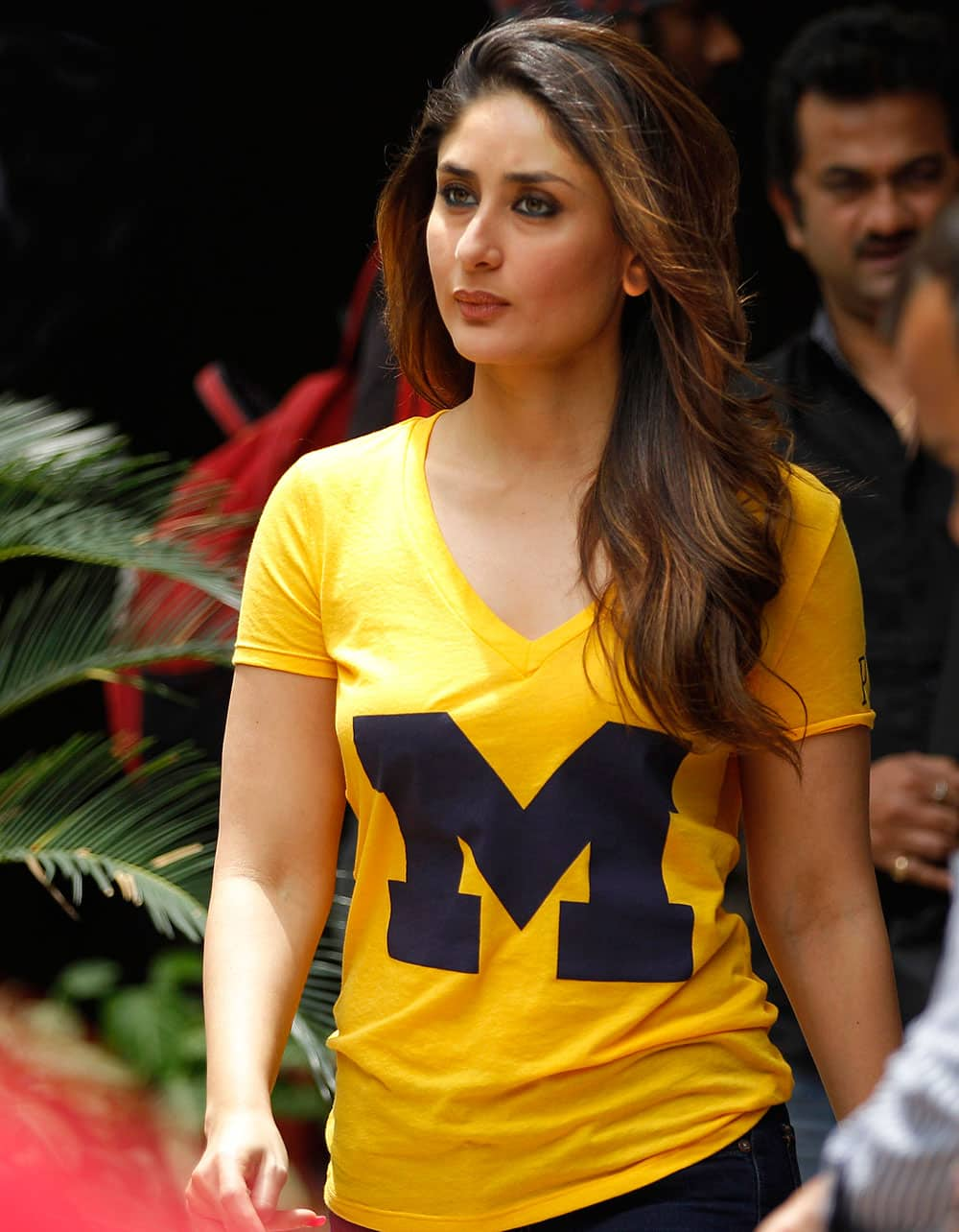 Bollywood actress Kareena Kapoor arrives for a promotional event for her upcoming movie