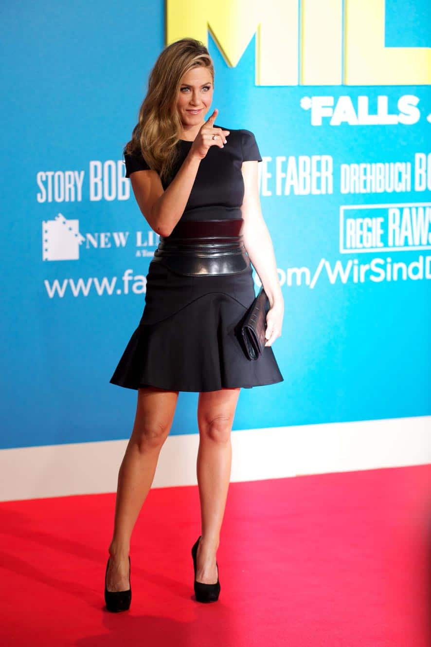 US actress Jennifer Aniston arrives for the German premiere of the movie