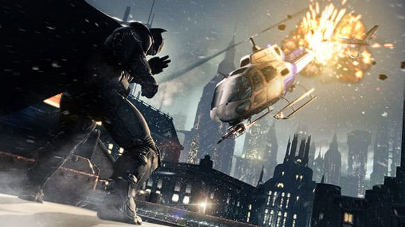 This publicity photo released by Warner Bros. Interactive Entertainment shows a scene from the video game franchise