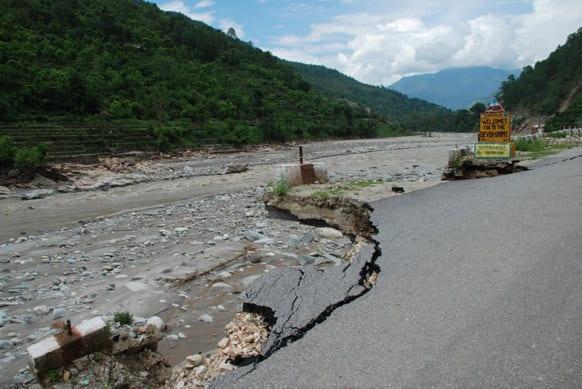 Rains and floods wreaked havoc in Rudraprayag, Uttarakhand. Photo Courtesy: Siddharth Behl/SEEDS
