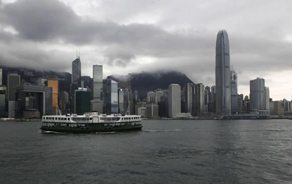 A ferry sails across the Victoria Harbour in Hong Kong. Edward Snowden, an American defense contractor who said he leaked information on classified US surveillance programs, could benefit from a quirk in Hong Kong law that would ensure a lengthy battle to deport him.