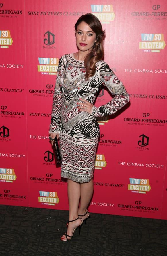 Actress Blanca Suarez attends a screening of