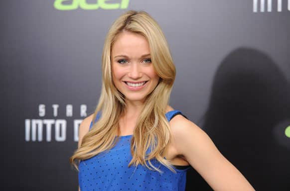 Actress Katrina Bowden attends the