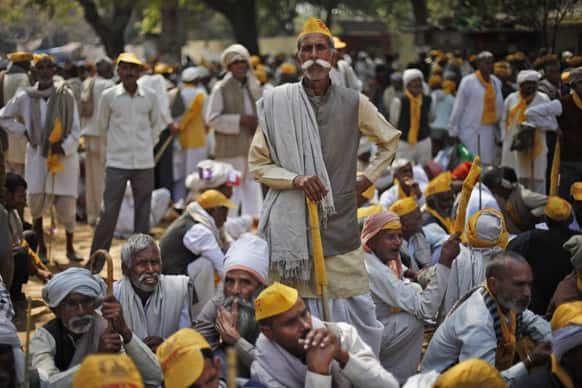 People from the northern Indian community of mainly farmers and herders called