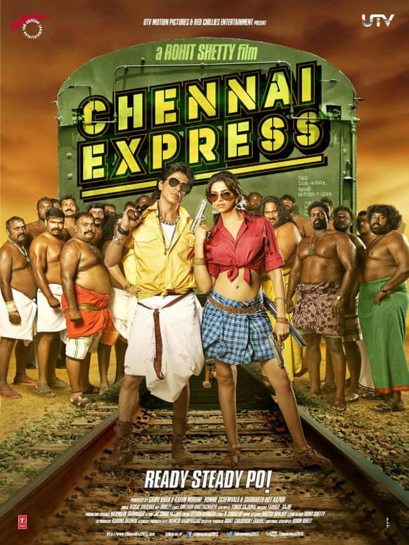 UTV Motion Pictures posted this poster of the film 'Chennai Express' and wrote,