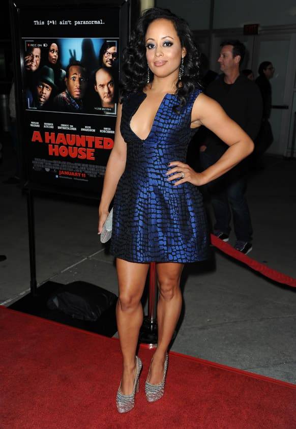 Essence Atkins attends the world premiere of