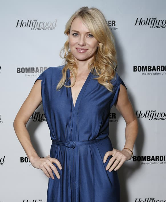 Naomi Watts is seen at The Hollywood Reporter's Palm Springs Shuttle presented by Bombardier Business Aircraft - Day 2, in Palm Springs, California.