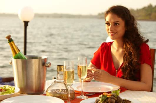 Aditi Rao Hydari looks extraordinarily gorgeous in this still from the film.