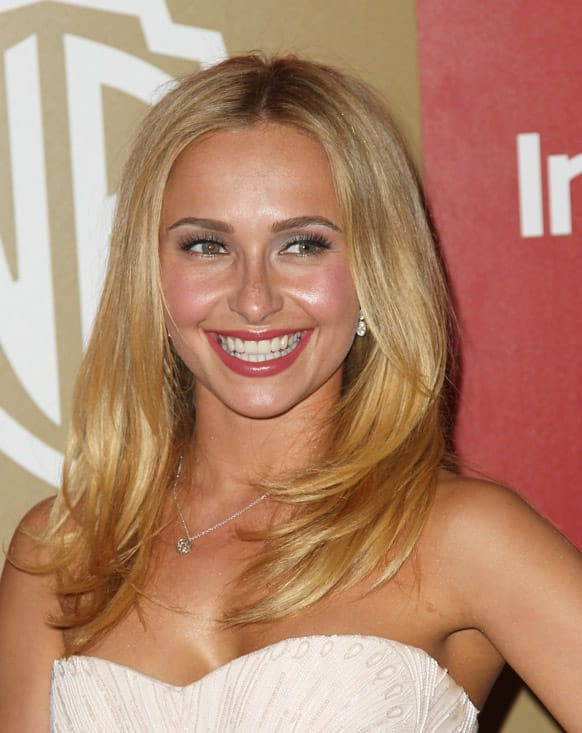 Hayden Panettiere arrives at the InStyle and Warner Bros. Golden Globe After Party at the Beverly Hilton Hotel, in Beverly Hills, Calif.