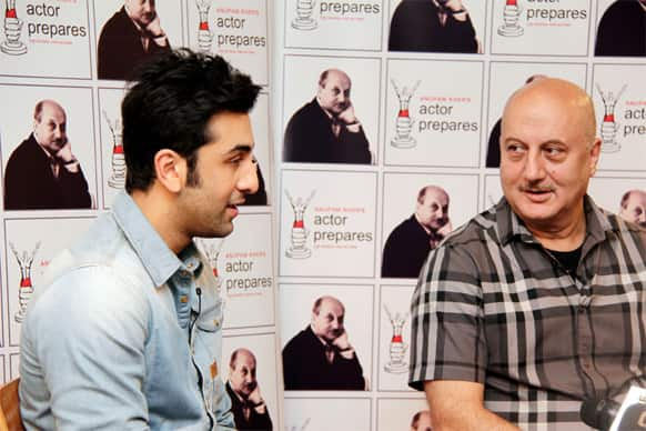 Ranbir Kapoor was the latest actor to share his experiences with students of Anupam Kher's acting school Actor Prepares.