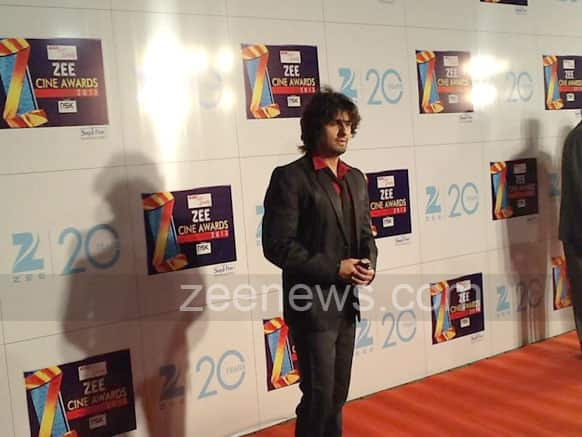Sonu Nigam also makes his presence felt at the event.