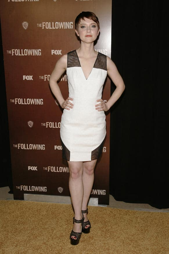 Actress Valorie Curry attends the world premiere of