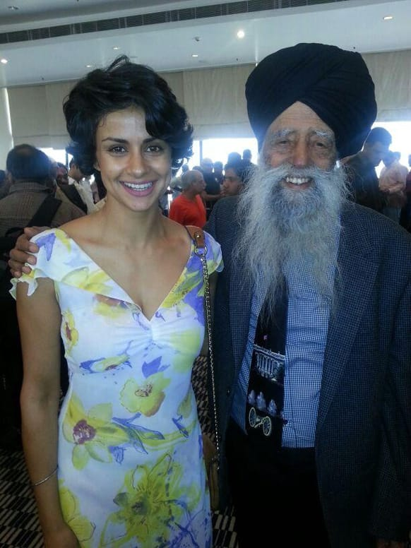Ex-Miss India and Bollywood actress Gul Panag posted this picture of hers and wrote: