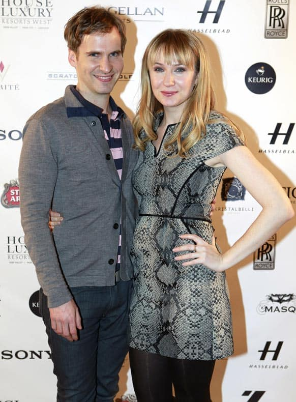 Ryan Spahn and Halley Feiffer from the film