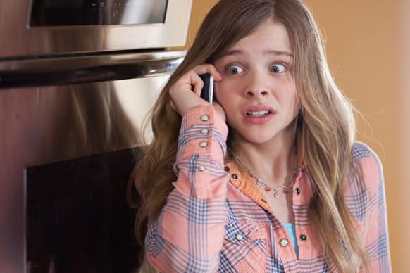 This image released by Relativity Media shows Chloe Grace Moretz in a scene from