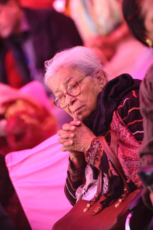 Mahashweta Devi reflected on her long and illustrious life and writing career in a speech laced with references to the rich world of ideas she has imbibed from the tribal and rural cultures that have been the subject of her work till date.
