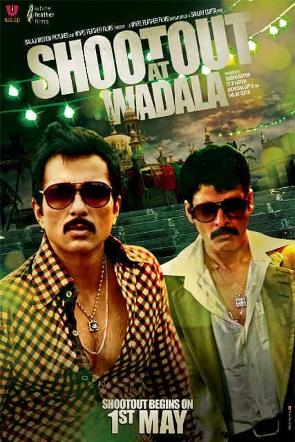 Sonu Sood posted this poster of 'Shootout At Wadala' on Twitter.