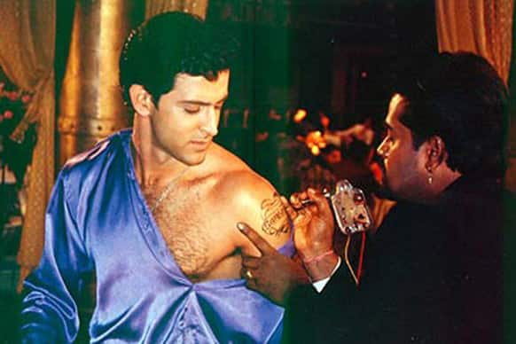 Hrithik Roshan dared to got his beloved's name inked on his arm in the movie 'Main Prem Ki Diwani Hoon'. Are you willing to take a similar course this Valentine's Day?