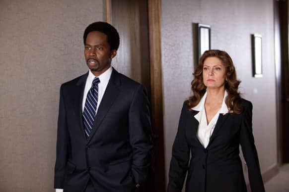 This film image released by Summit Entertainment shows Harold Perrineau, left, and Susan Sarandon in a scene from