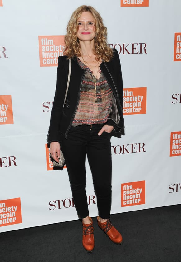 Actress Kyra Sedgwick attends the premiere of