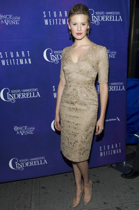 Maggie Grace attends the Broadway premiere of