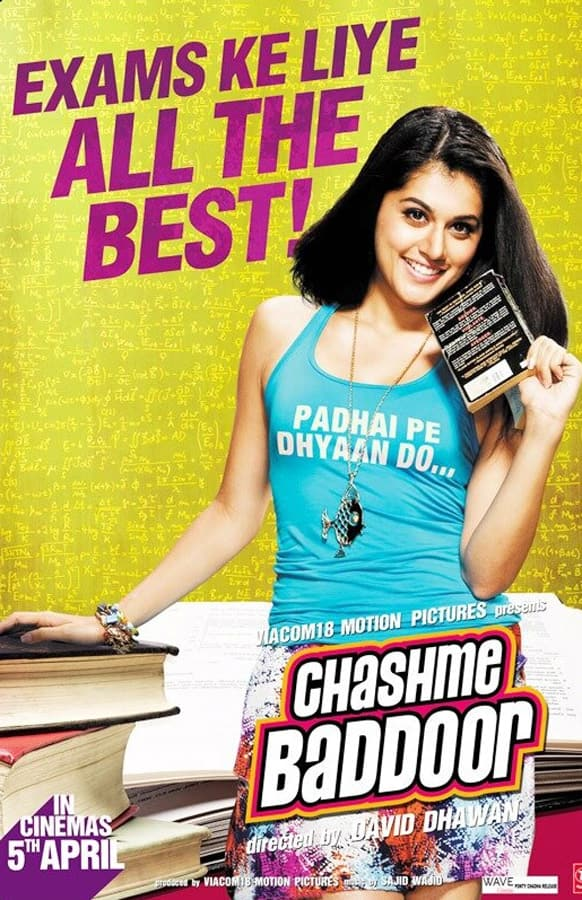 New poster of 'Chashme Baddoor'.