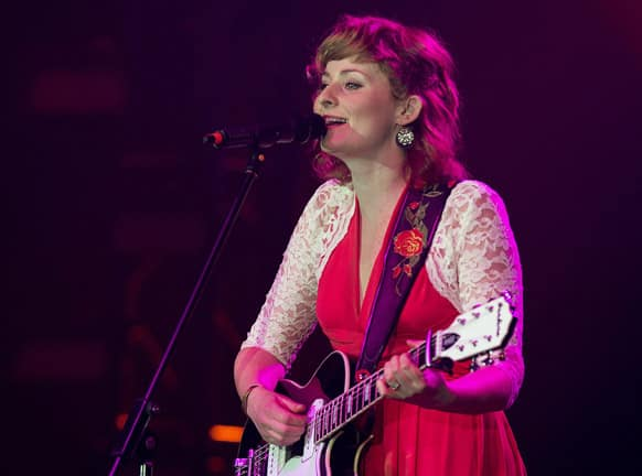 Jenn Grant plays at the East Coast Music Awards in Halifax.