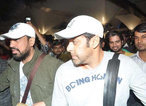 Salman Khan was recently spotted at the airport; returning to India from the US where the actor had been undergoing his medical treatment.