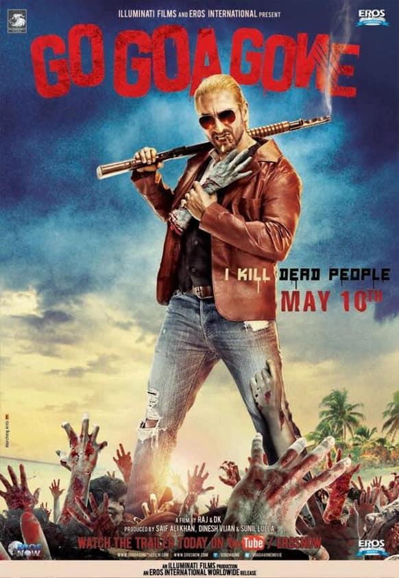 Brand new poster of Saif Ali Khan's 'Go Goa Gone'.