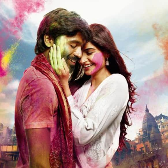 Here's the first look poster of the Sonam Kapoor-Dhanush starrer 'Raanjhnaa'.