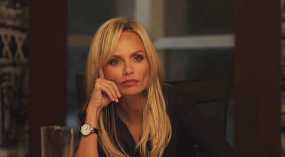 This publicity photo released by ARC Entertainment shows Kristin Chenoweth as Samantha Smith-Dungy in a scene from the film,