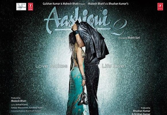 The brand new poster of 'Aashiqui 2'. The film stars Aditya Roy Kapur and Shraddha Kapoor in pivotal roles, and has been directed by Mohit Suri.