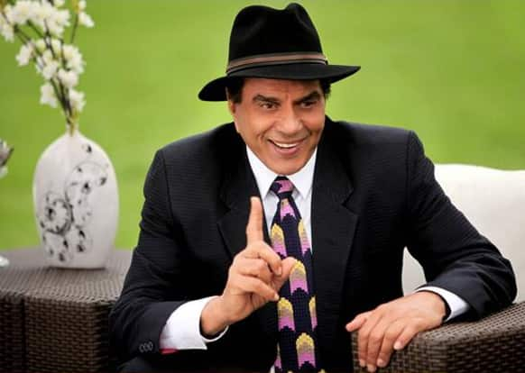 Dharmendra at his best in a still from 'Yamla Pagla Deewana 2'.