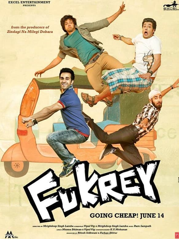 Here's the first look of Farhan Akhtar's 'Fukrey' for you!