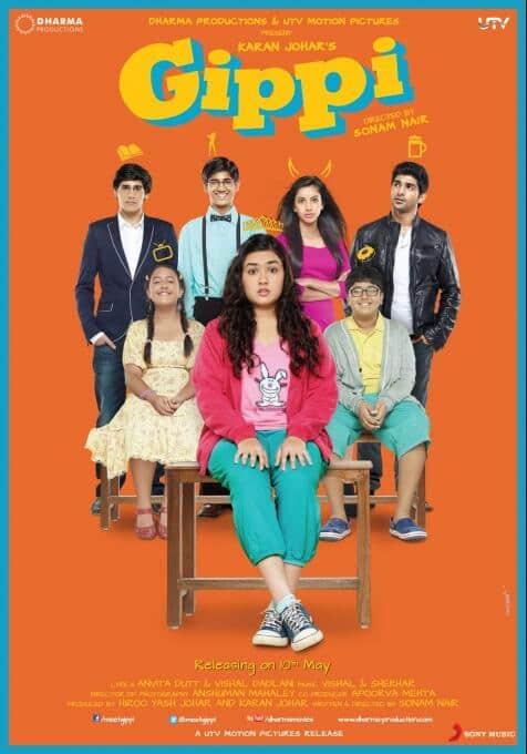 Brand new poster of Karan Johar's 'Gippi'.