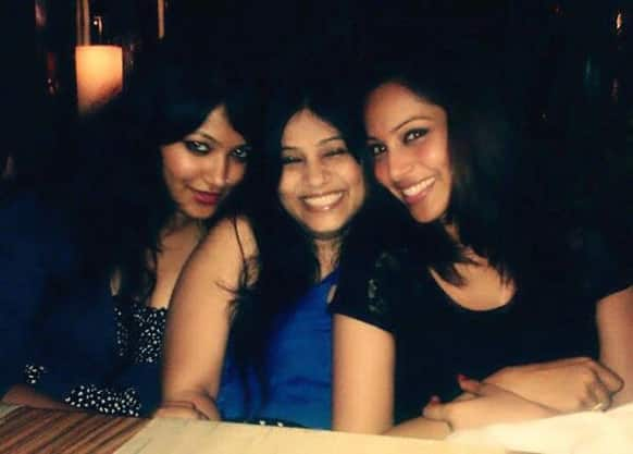 Bipasha Basu posted this pic of hers with her sisters on Twitter.