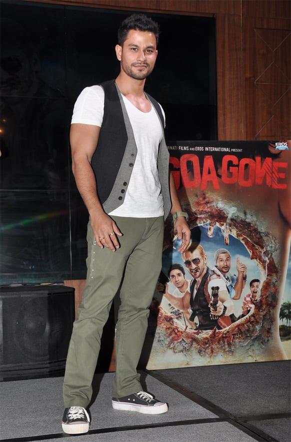 Kunal Khemu at the music launch of 'Go Goa Gone'.