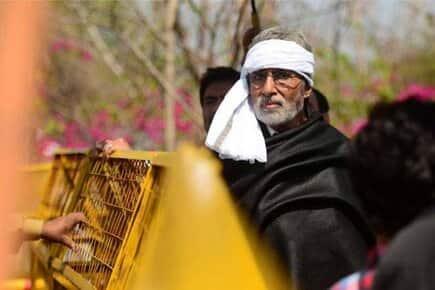 Amitabh Bachchan in a still from Prakash Jha's 'Satyagraha'.